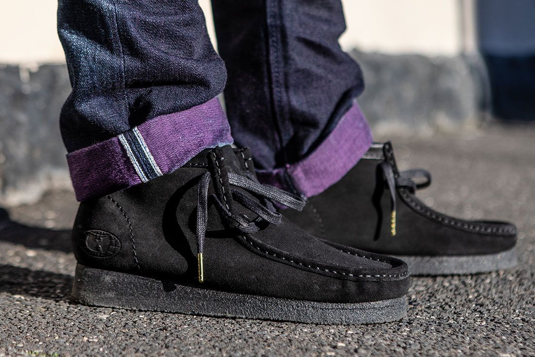 Clarks Wallabee Wu Tang On Foot