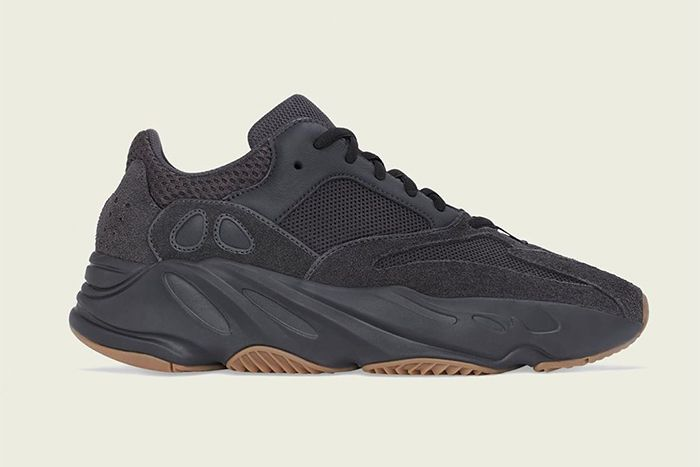 Adidas Yeezy Boost 700 Utility Black Release Date Lateral