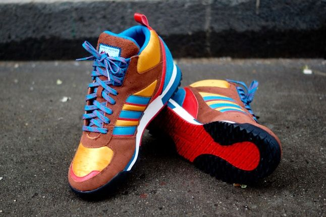 Adidas Zx Tr Mid Brown 2