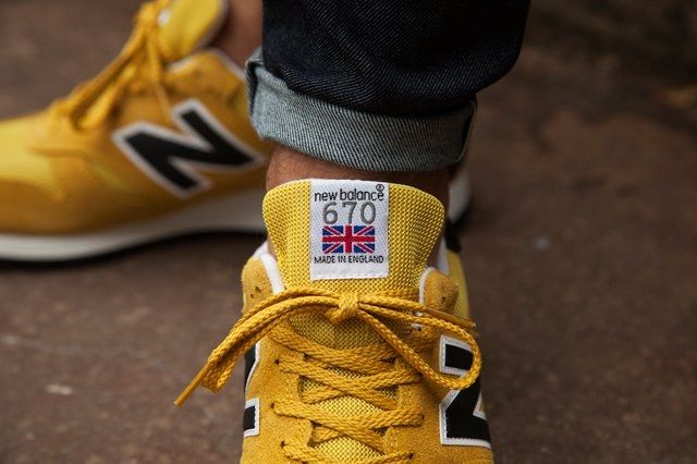 New Balance 670 Black Yellow Pack 2