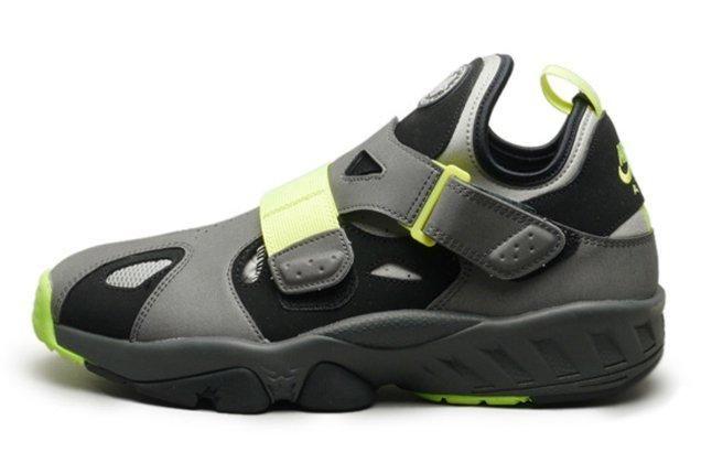 Nike Huarache 94 Grey Volt Profile Shot 1