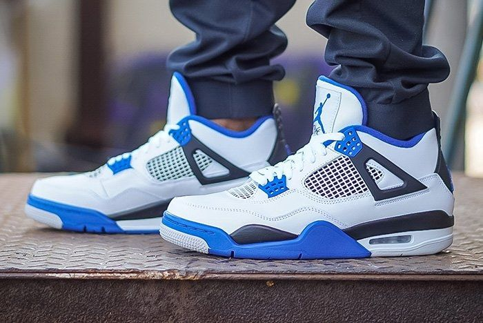 Air Jordan 4 Motorsport On Foot Thumb