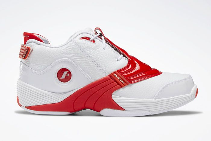 Reebok Answer 5 Og Red White Right