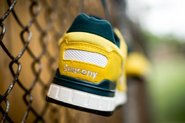 Saucony Shadow 5000 Yellow Green 5