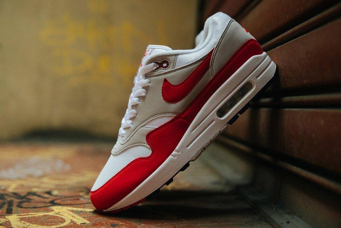 Nike Air Max 1 Anniversary Og Red White 1