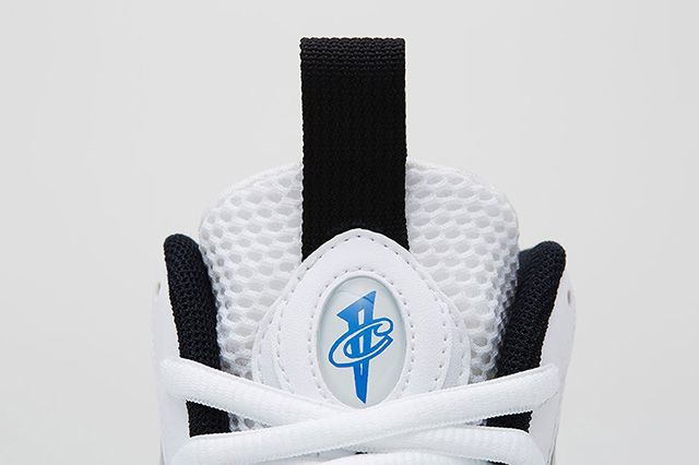 Nike Air Foamposite One Black White 4