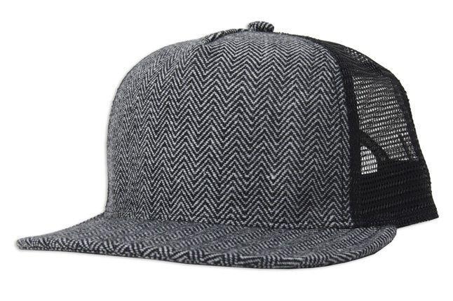 Upper Playground Donnie Mesh Blk Hat 1