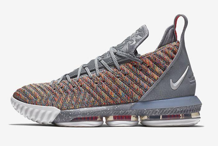 Nike Lebron 16 Multicolour 2