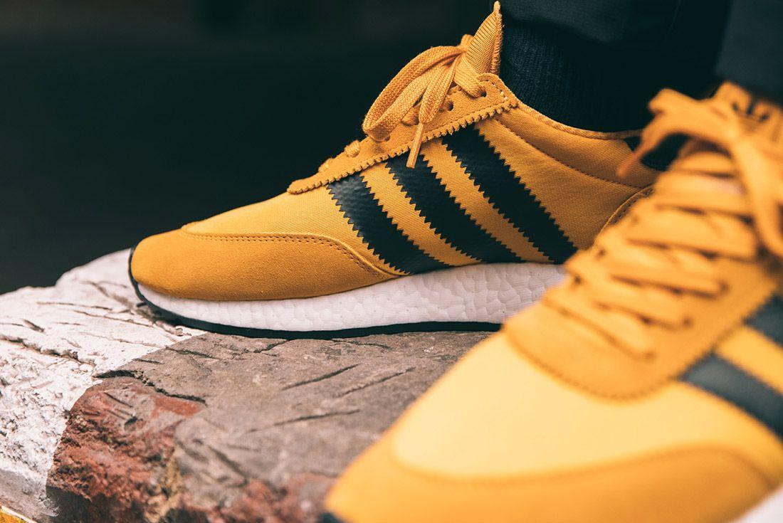 Adidas Iniki Runner Goldenrod Yellow 7