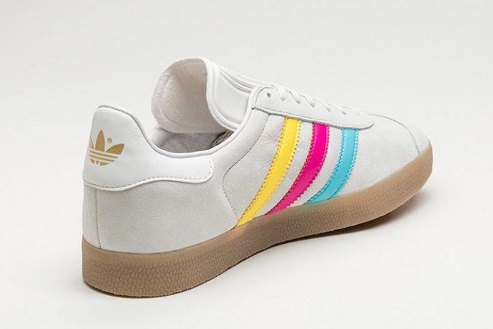 Adidas Gazelle Vintage White Colour Stripe 1
