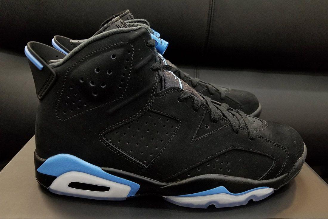 Air Jordan 6 University Blue 6