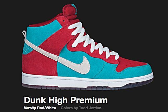 Nike Varsity Red Dunk Sb High 2009 1