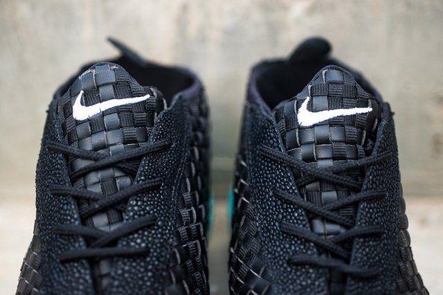 Nike Air Footscape Desert Chukka Black Turquoise 3