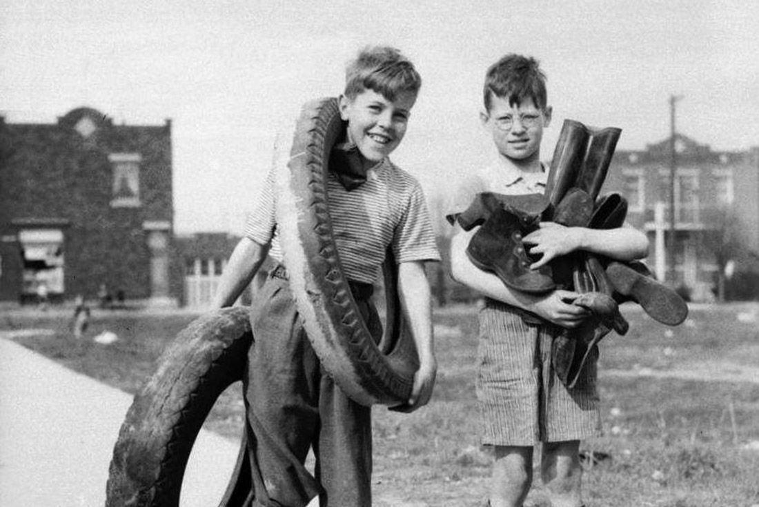 Wwii Rubber Lads Material Matters