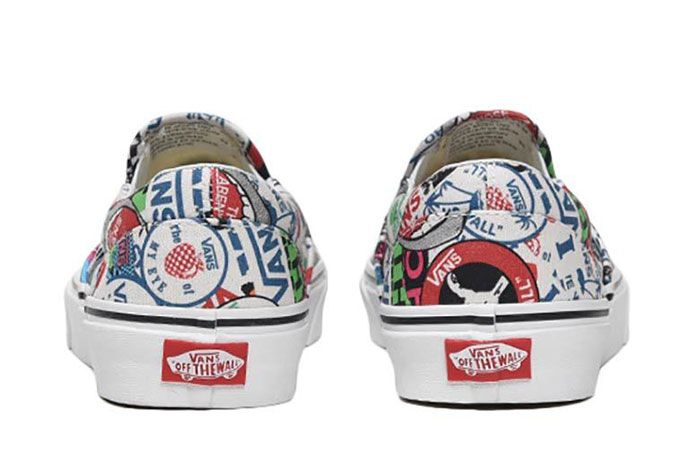 Vans Slip On All Over History Logos 4