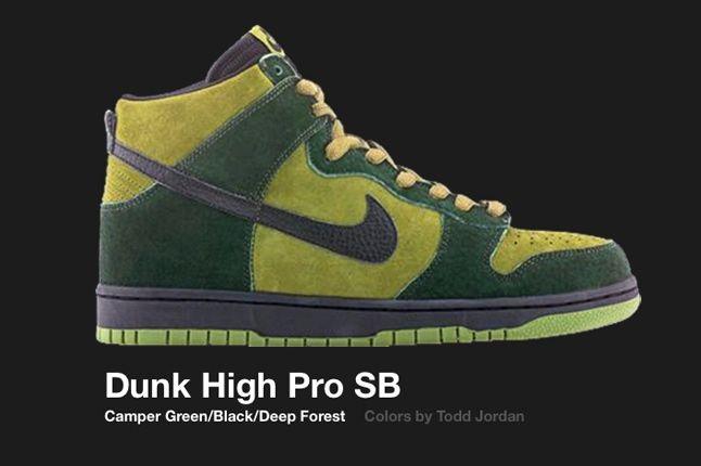 Nike Dunk Sb Hi Camper Green 2003 1