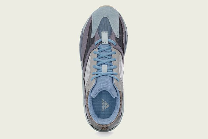 Adidas Yeezy Boost 700 Carbon Blue Top