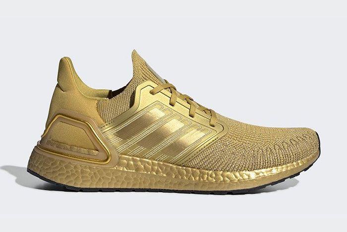 Adidas Ultra Boost 2020 Metallic Gold Eg1343 Official