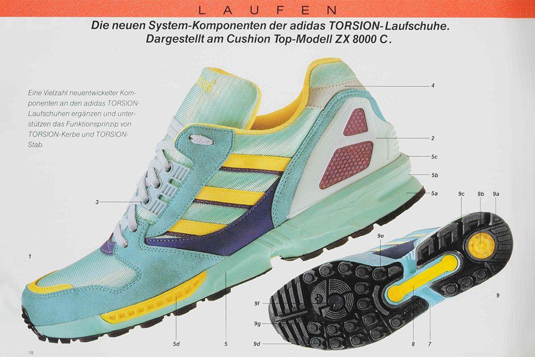 adidas ZX 8000 1989