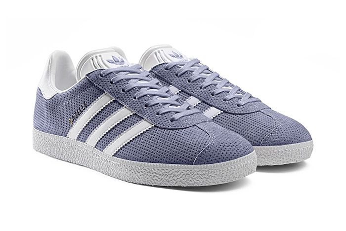 Adidas Gazelle Perforation Purple 1