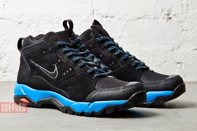 Nike Salbolier Mid Dark Grey Photo Blue 2