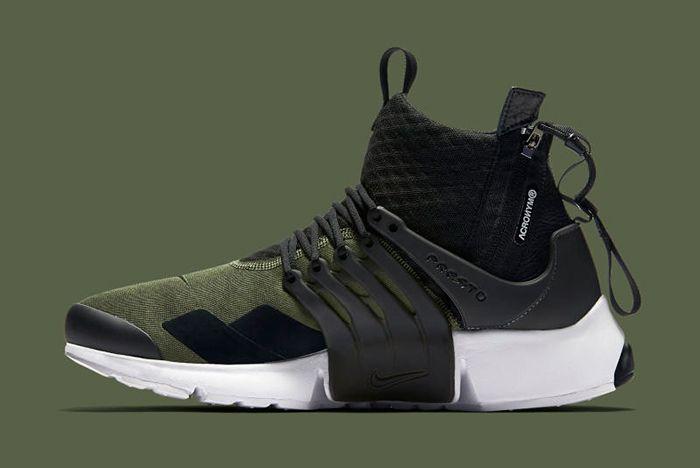Acronym X Nike Air Presto Olive4