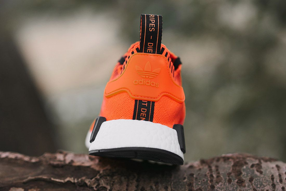 Size X Adidas Nmd R1 Orange Noise Invisble Pack Sneaker Freaker 4