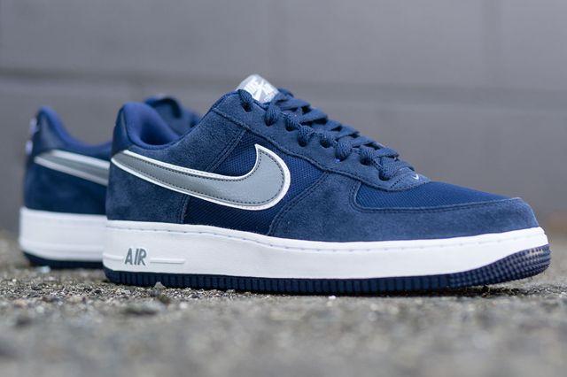 Nike Air Force 1 Low Midnight Navycool Grey2