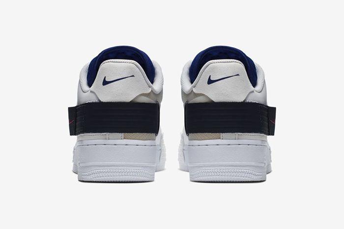 Nike N 354 Af1 Type Summit White Ci0054 100 Release Date Heel