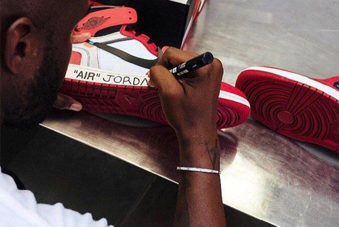 Off White Air Jordan 1 Virgil Abloh 1