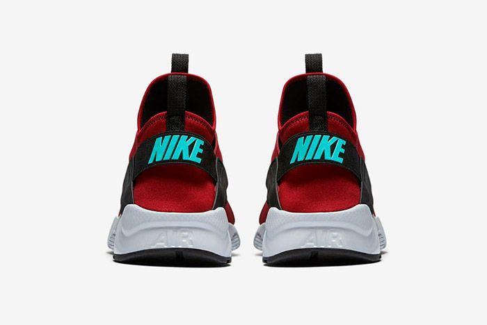 Nike Huarache Ultra Red Black 3
