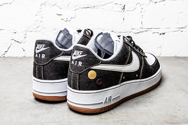 Nike Air Force 1 07 Denim Wolf Grey 3