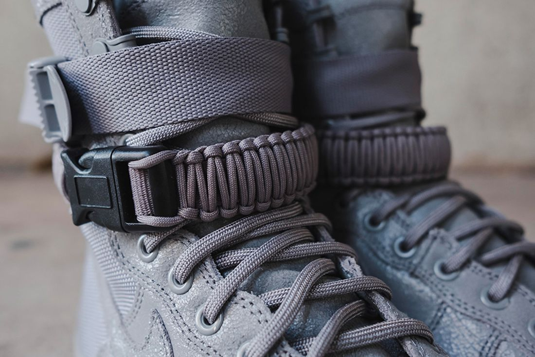 Nike Sf Air Force 1 Grey 8