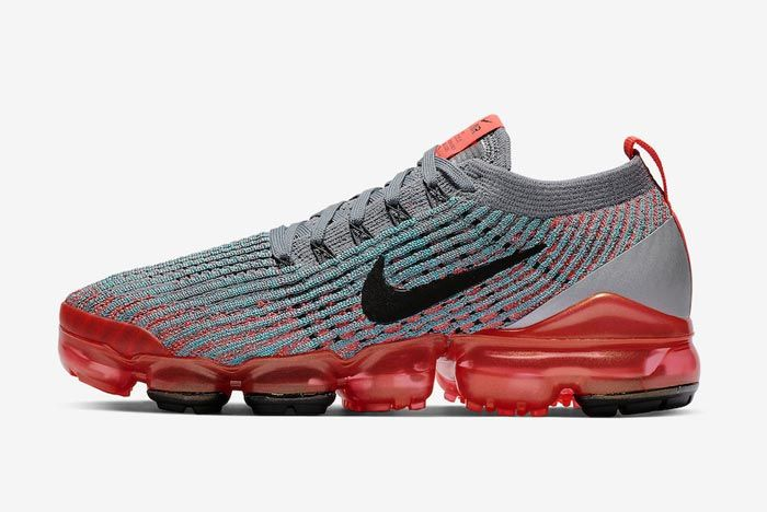 Nike Air Vapormax 3 Flash Crimson Lateral