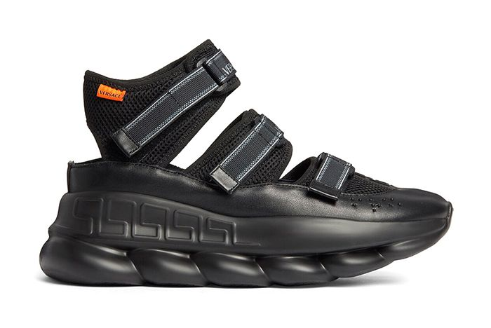 Versace Chain Reaction Sandals Lateral