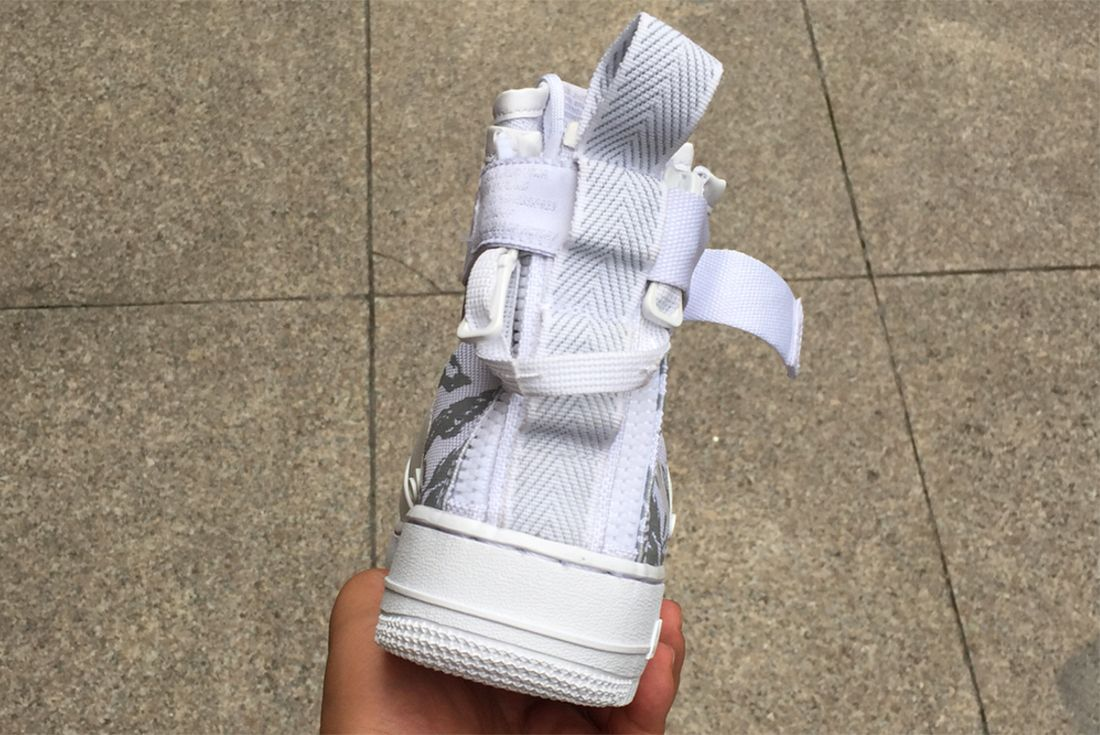 Ice Cold Nikes Sf Af 1 Appears In White Tiger Snow Camo3