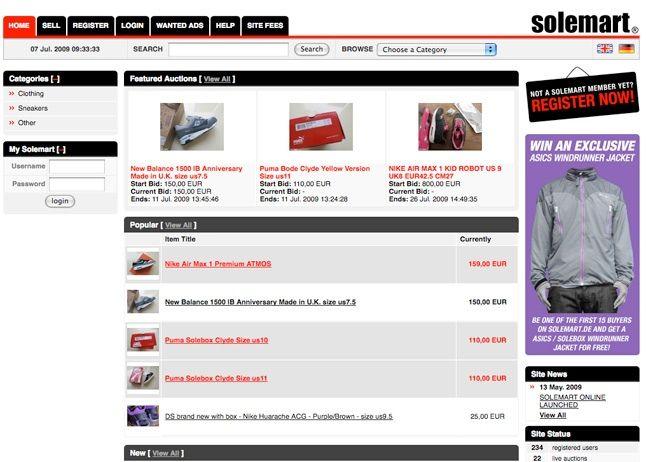 Solemart Online Auction 1