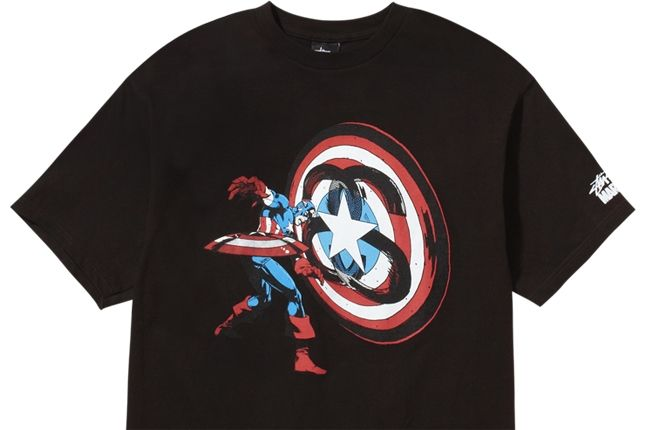 Stussy Marvel Captain America 1 1