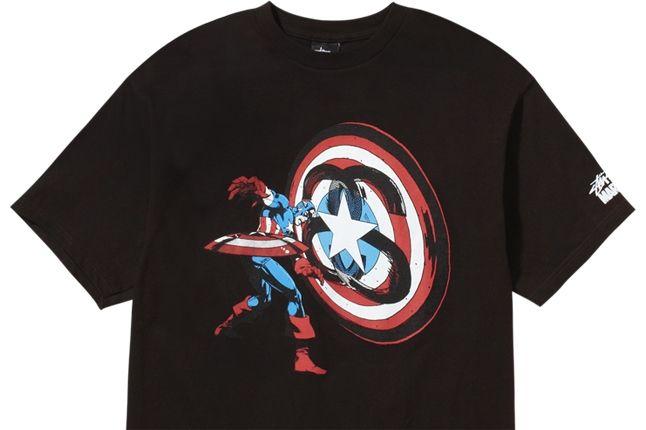 Stussy Marvel Captain America 1 1