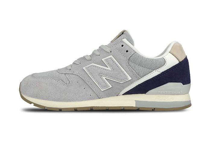 New Balance 996 Mrl996 Ta Grey Suede 1