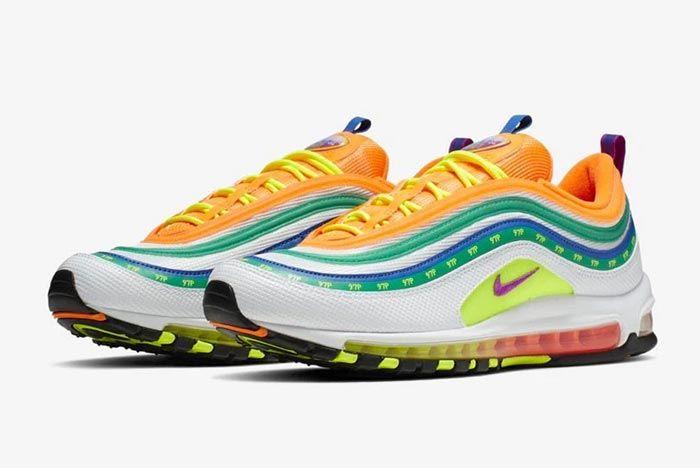 Nike Air Max 97 London Summer Love Pair