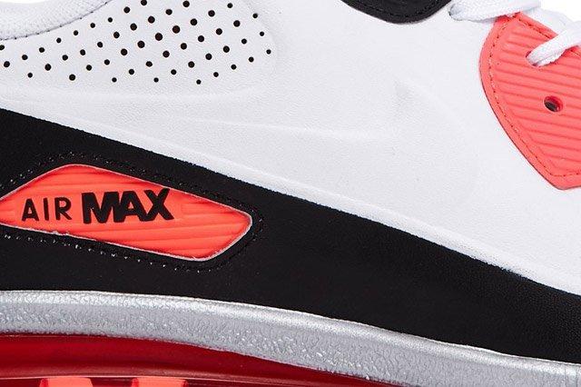 Air Max 90 Leather Qs Sideview Closeup