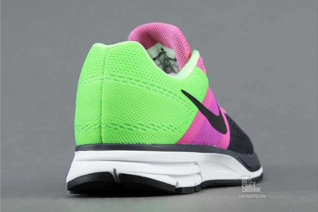 Nike Air Pegasus30 Green Pink Heel Profile 1