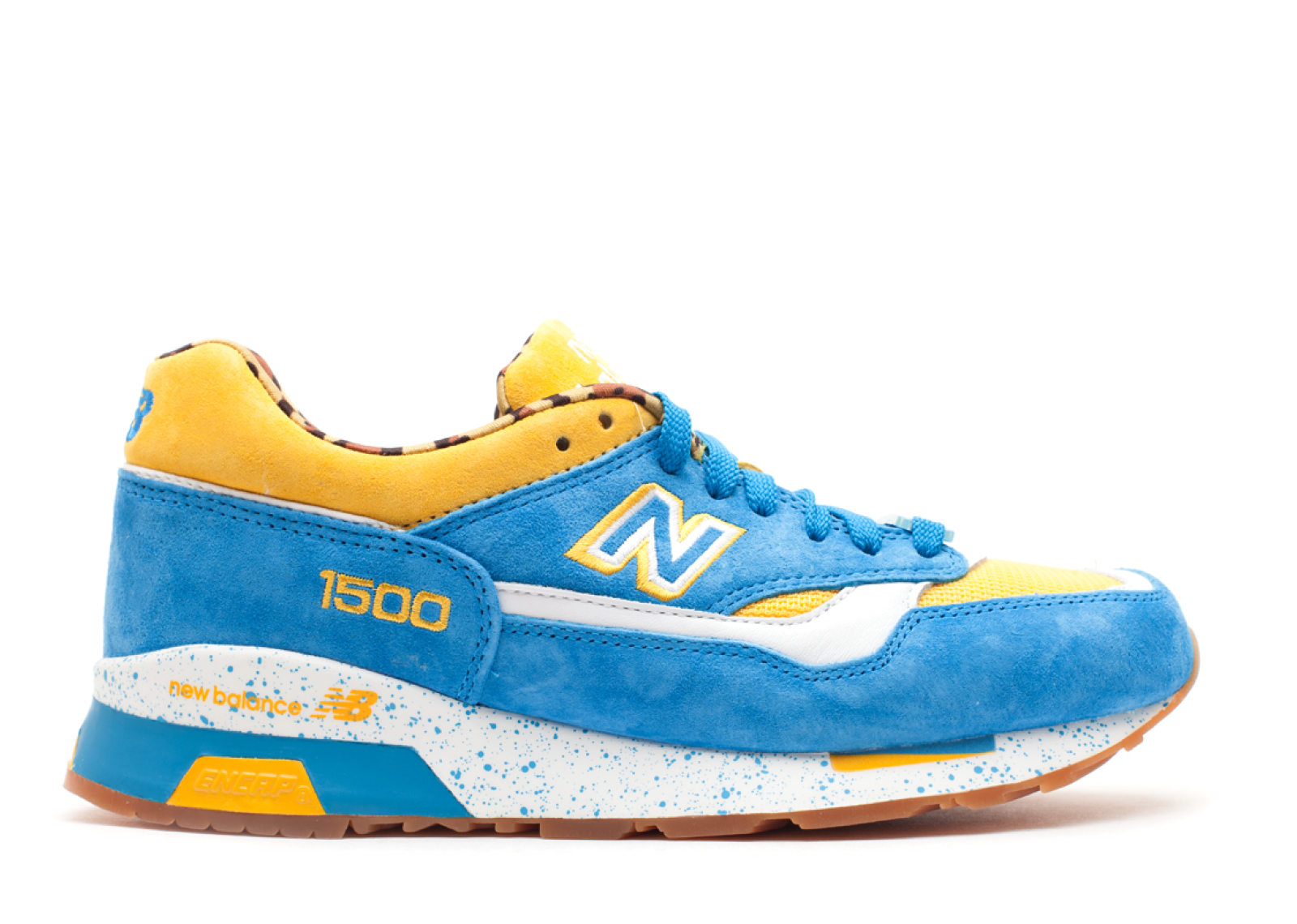New Balance Cm1500 Undefeated X Colette X Lamjc Yellow Blue White 300356 1