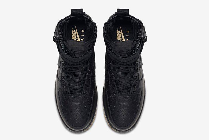 Nike Sf Air Force 1 Black 5
