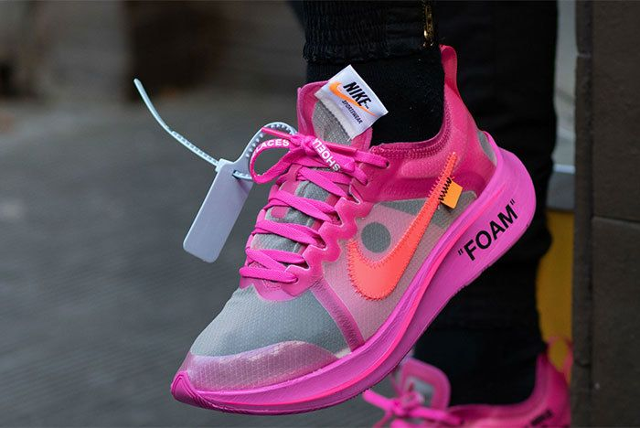 Zoom Fly Off White 02 Pink