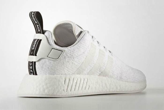 Adidas Nmd R2 Triple White 4
