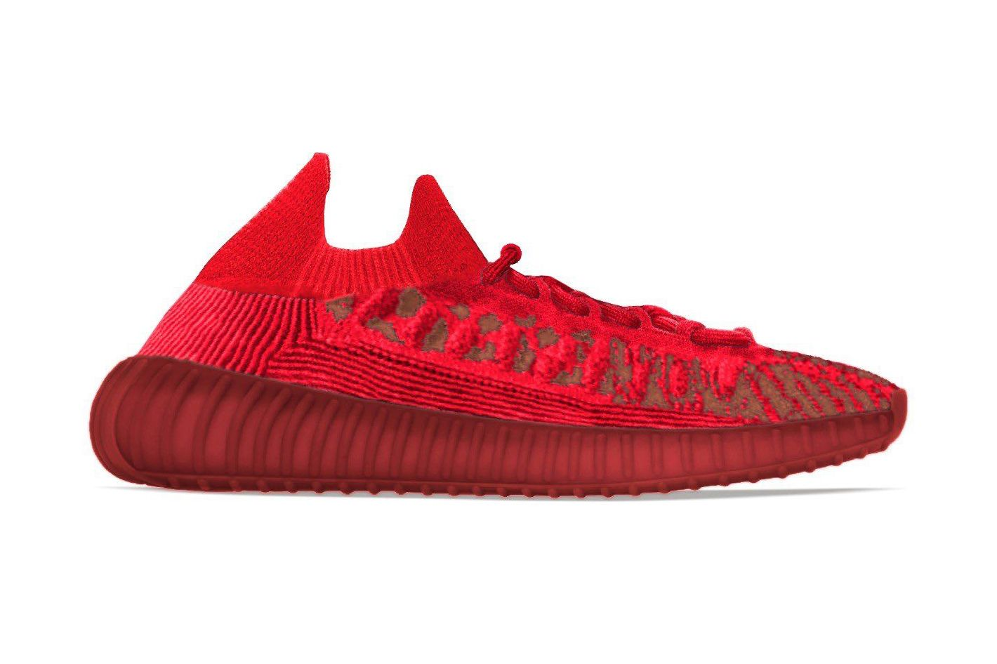 adidas YEEZY BOST 350 V2 CMPCT 'Slate Red'