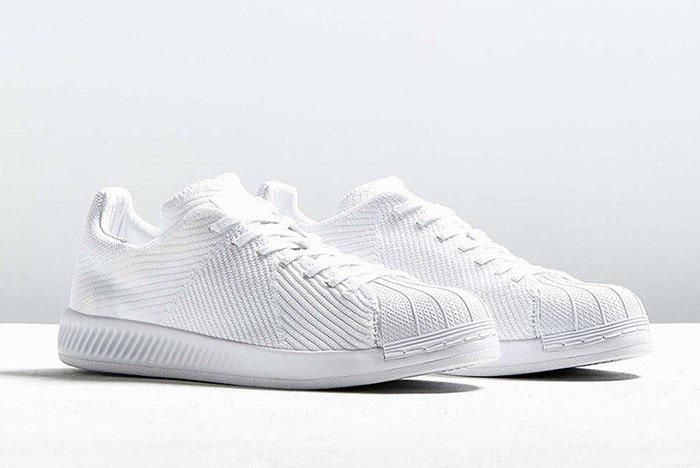 Adidas Superstar Bounce Primeknit Triple White 21