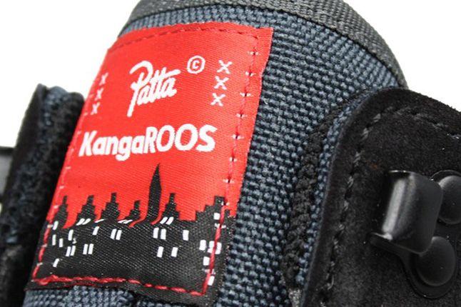 Patta Kangaroos Slantback Tongue Details 1